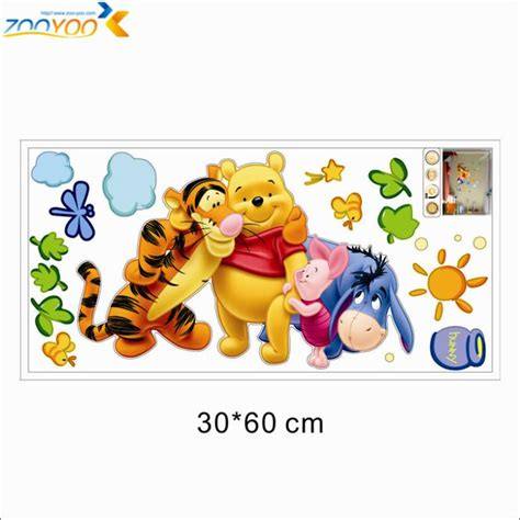 Wall Sticker Wall Stiker Wallsticker Dinding 32 Winnie The Pooh winnie the pooh friends wall stickers for rooms zooyoo2006 decorative sticker adesivo de
