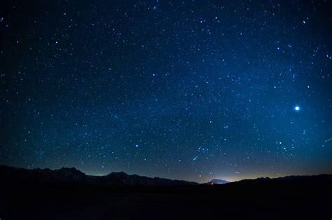 wallpaper blue night night sky stars wallpapers wallpaper cave
