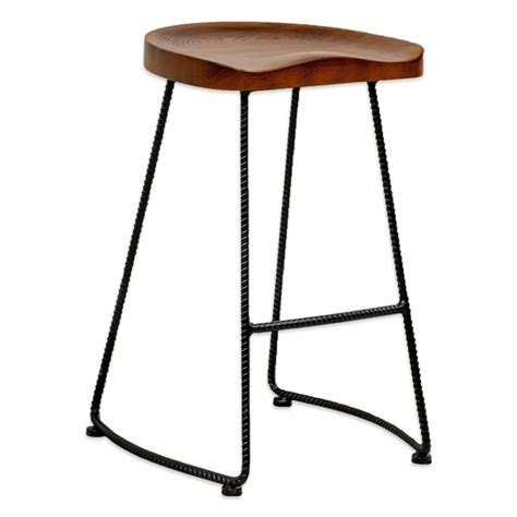 Wooden Bar Stool Legs by Wooden Bar Stools With Metal Legs Shapeyourminds