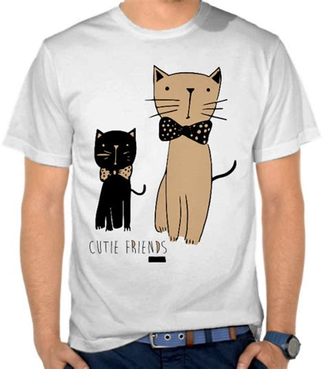 Kaos And Friends jual kaos cat friends kucing satubaju