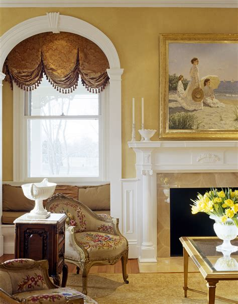 formal living room window treatments formal window treatments spaces traditional with artistic