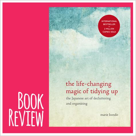 book review  life changing magic  tidying