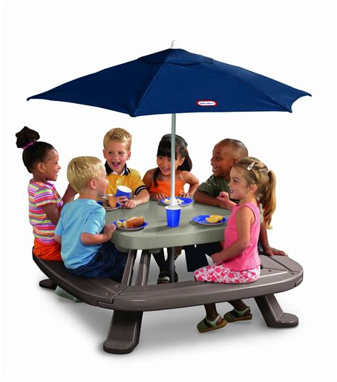 Tikes Fold N Store Table tikes fold n store table with umbrella 79 shipped reg 129 seats up to 8