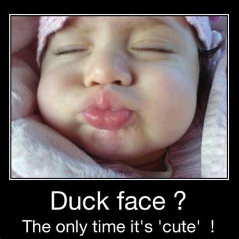 Duck Face Meme