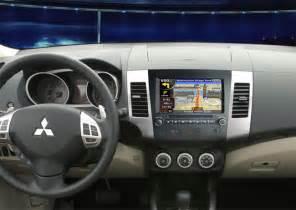 Mitsubishi Outlander Navigation System In Dash Car Gps Navigation System For Mitsubishi Outlander