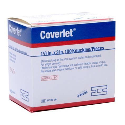 coverlet bandage coverlet 174 knuckles adhesive dressing healthcare supply pros