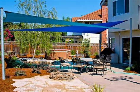 shade sail backyard backyard shade sails landscaping network
