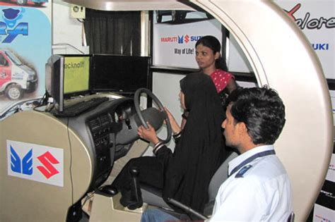 maruti driving simulator viira cabs motor school for driver