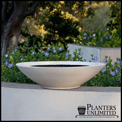 low bowl planters modern low bowl planters