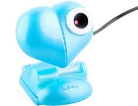 coolest gadgets heart shaped usb webcam latest top