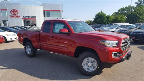 Expressway Toyota New 2017 Toyota Tacoma Sr5 Extended Cab In Boston