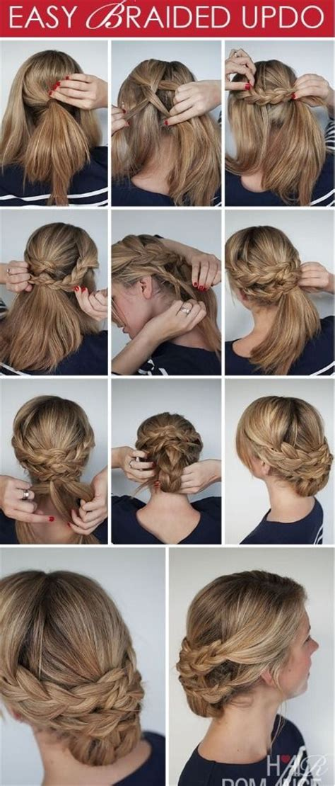 step by step hair style hair style step by step beauty fashion pinterest