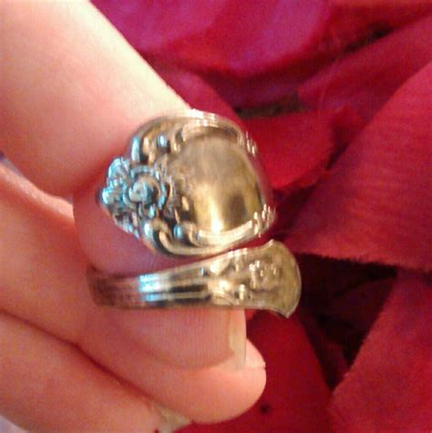 60 vintage jewelry vintage spoon ring wm rogers