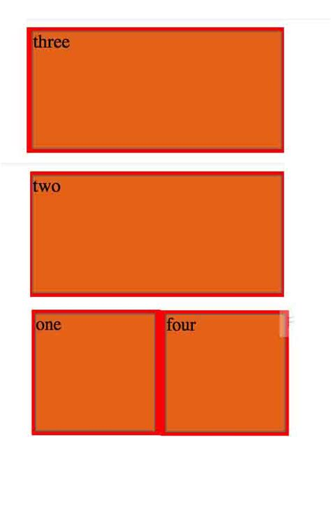 3 column layout with flexbox html flexbox children mix of rows and columns stack