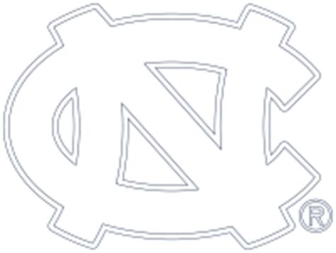unc logo coloring pages coloring pages for kids and