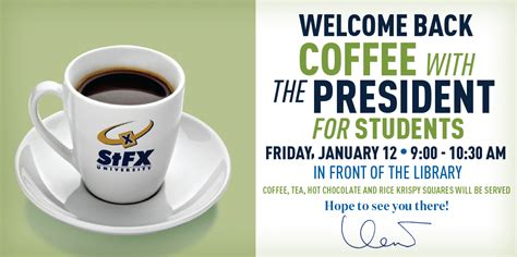 Coffee Pres coffee with pres january 2018 png stfx