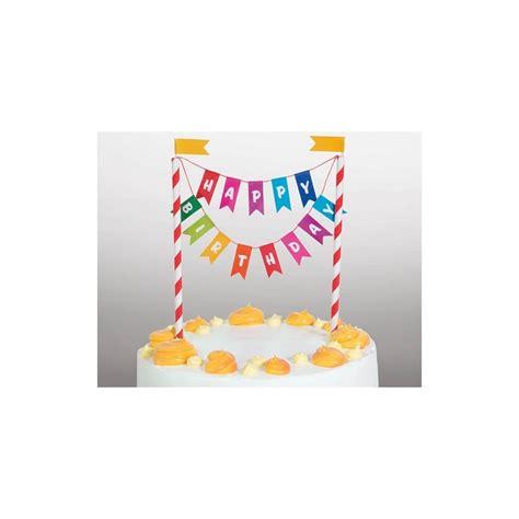 Caketopper Cake Topper Happy Birthday L happy birthday bunting cake topper