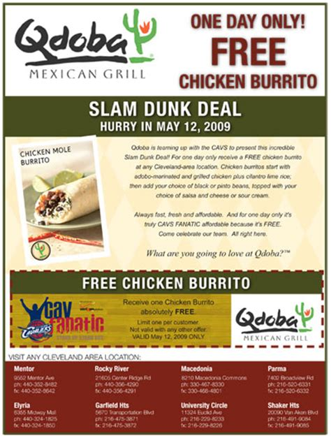 printable job application for qdoba qdoba fanatic offer the official site of the cleveland