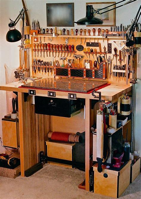 werkstatt zu hause leather working table werkstatt leder
