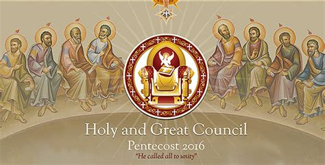 council new year the great race ne year anniversary of the holy and great council of the