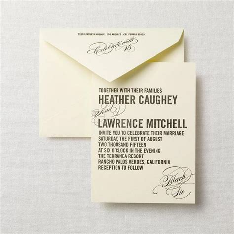 what goes into a wedding invitation what goes in a wedding invitation wedding ideas