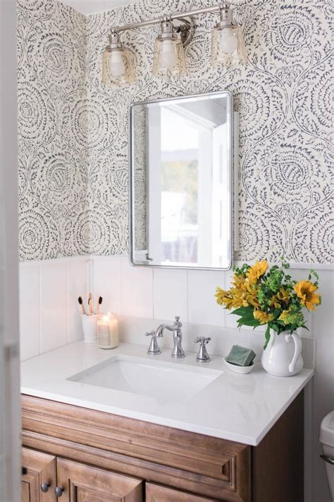 Modern Bathroom Style by Modern Farmhouse Style Bathroom Makeover Reveal Bathroom