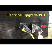 Electrical Upgrade Pt 1  6x10 Enclosed Trailer