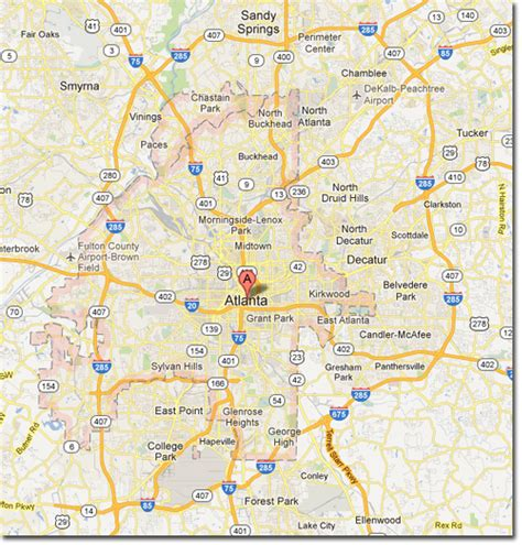 atl map 28 atlanta on a map nationmaster maps of united states 1212 in total atlanta map free