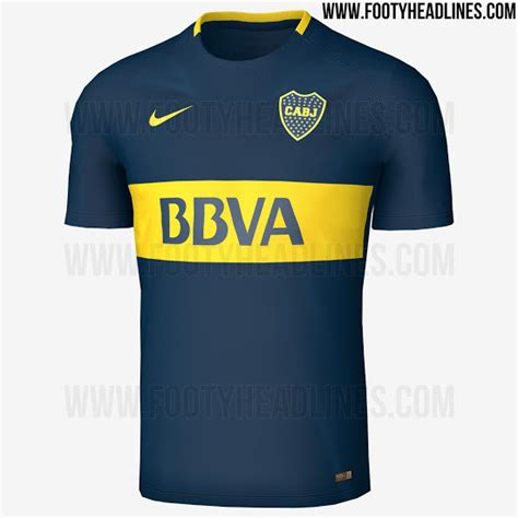 boca juniors 2016 home kit released footy headlines boca juniors 17 18 away kit