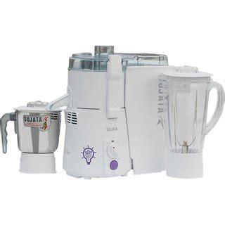 Sujata Powermatic Plus 900 W Juicer Mixer Grinder White