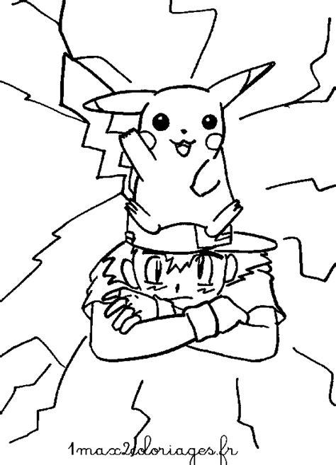 Coloriages Pokemon Pikachul