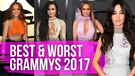 best worst best worst dressed grammy awards 2017