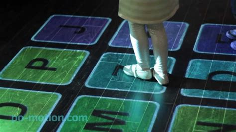 Motion On The Floor by Po Motion Interactive Floor And Wall Projection Software