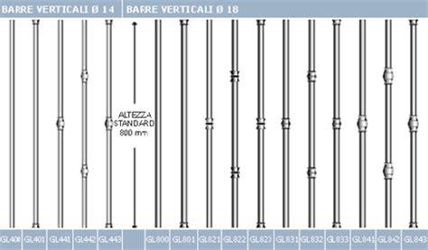 altezza ringhiera balcone scheda tecnica verande e ringhiere giulietta