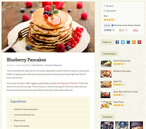 Where Do You Find Your Recipes by Petit Recipe Theme Wpexplorer