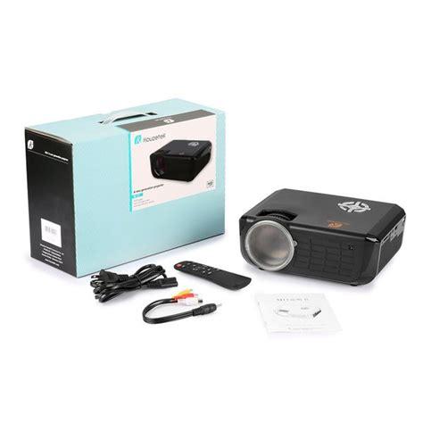 brand   box video projector houzetek  lumens