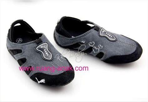 Sepatu Anak Shoes Sport Running 32 37 Murah jual sepatu sport anak hitam abu uk 31 35 murah meriah