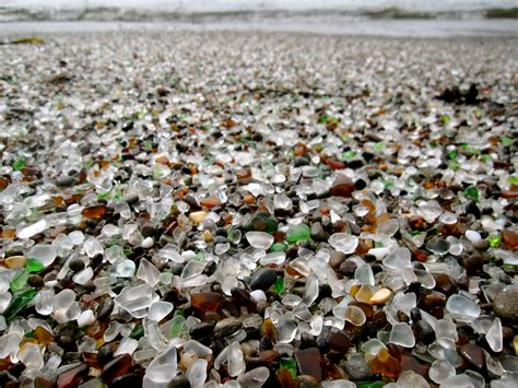 glass beach 17 of the most unusual beaches around the world bored panda