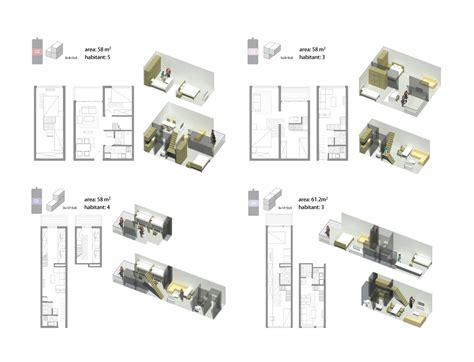 gallery of ganei shapira affordable housing orit low income housing floor plans