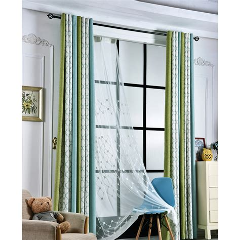 curtains for green bedroom green quatrefoil jacquard chenille modern custom bedroom