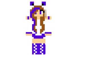 Http www img3 9minecraft net skin purple wolf girl skin png