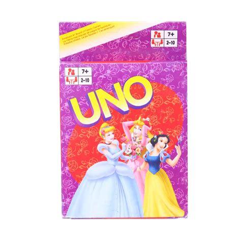 Permainan Kartu Uno Untuk Keluarga jual istana kado kartu uno card disney