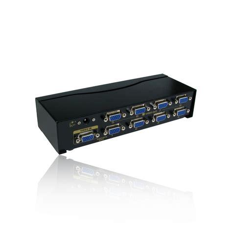 Vga Splitter 8 Port 8 port way svga vga splitter box boosts signal