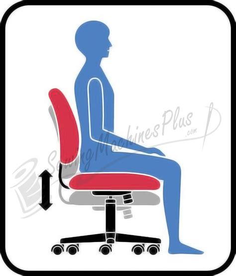 Sewing Machine Chairs by Sewergo Score Ergonomic Sewing Operator Chair 200se