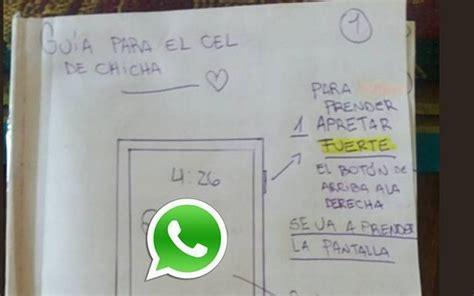 tutorial para usar whatsapp joven crea tutorial para que su abuelita aprenda a usar