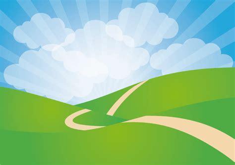 Landscape Graphics Clipart Green Rolling Landscape