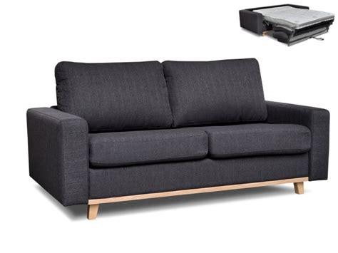 divano letto a ribalta divano letto a ribalta a 3 posti in tessuto silas antracite