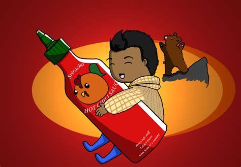 sriracha bottle wallpaper sriracha by naiagu on deviantart