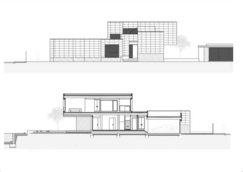 house plans elevation section section elevation home building plans 13104