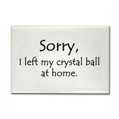 Crystal Ball Meme - more veterinary technician humor inspiring quotes and